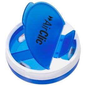 Branded Quadra Spin Pill Caddy