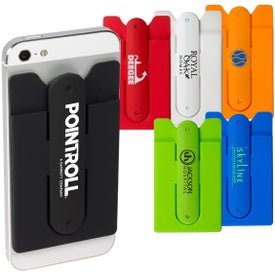 Quik-Snap Mobile Device Pocket and Stand