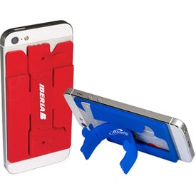 Quik-Snap Thumbs-Up Mobile Device Pocket and Stand