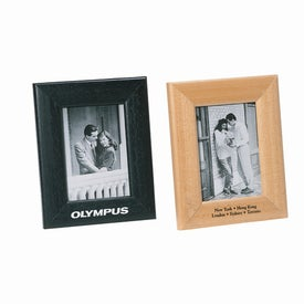 Advertising Radiance Silver Plated Photo Frame