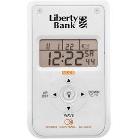 Branded Radio Controlled Clock