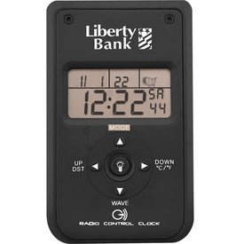 Radio Controlled Clock for Marketing