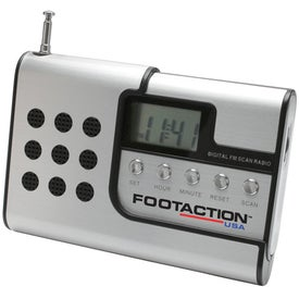Radio with Digital Clock for Promotion