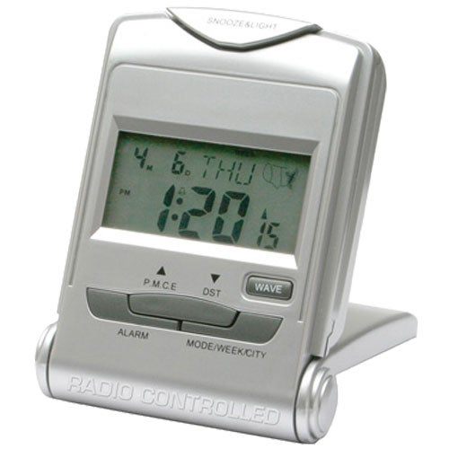 radio controlled digital alarm clock custom desktop items. Black Bedroom Furniture Sets. Home Design Ideas