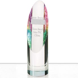 Logo Rainbow Cylinder