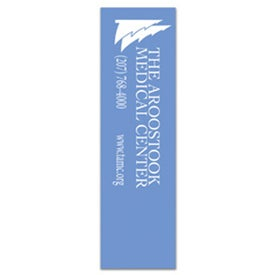 Rectangle Bookmark Branded with Your Logo