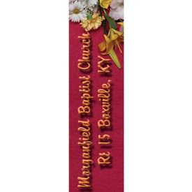 "Rectangle Bookmark (2"" x 7"")"