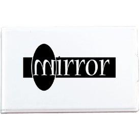 Rectangle Flip Mirror for Advertising