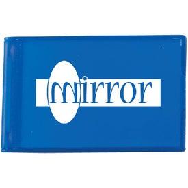Printed Rectangle Flip Mirror