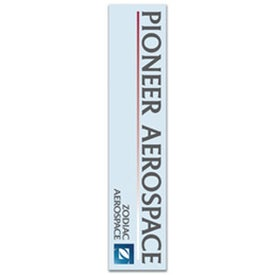 Rectangle Bookmark Imprinted with Your Logo