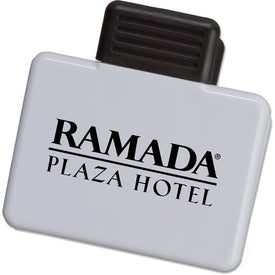 Rectangular Magnetic Clip Branded with Your Logo