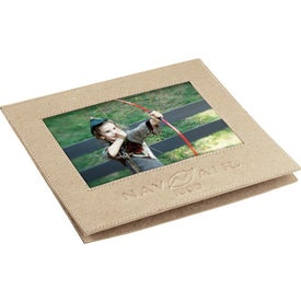 Recycled Cardboard Photo Frame Printed with Your Logo