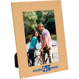 Custom Recycled Paper Picture Frame