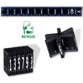Promotional Recycled Fold 'Em Up Ruler