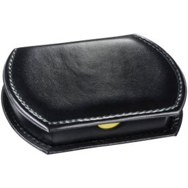Refillable Leatherette Memo Case Imprinted with Your Logo