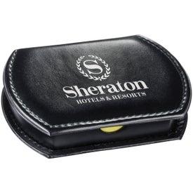 Refillable Leatherette Memo Case