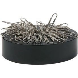 Regular Silver Paper Clips with Black Base