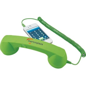 Retro Handset Imprinted with Your Logo