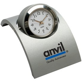 Revolving Desk Clock for Advertising