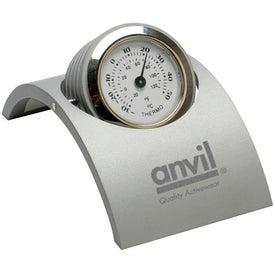 Branded Revolving Desk Clock