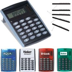 Monogrammed Robot Series Jumbo Desk Calculator