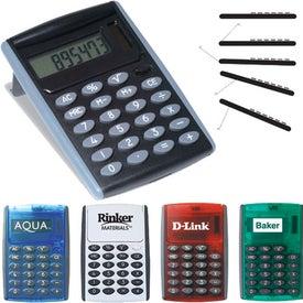 Monogrammed Robot Series Jumbo Desk Calculator