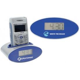 Customized Rockin' Clock and Phone Holder