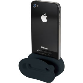 Branded Rockz Amplifier and Earbud Wrap Phone Stand
