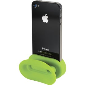 Rockz Amplifier and Earbud Wrap Phone Stand for Marketing