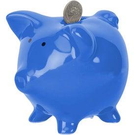Imprinted Rodeo Piggy Bank