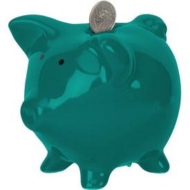Rodeo Piggy Bank Imprinted with Your Logo