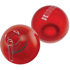 "The ""Roll About"" Paper Clip Ball with Your Slogan"