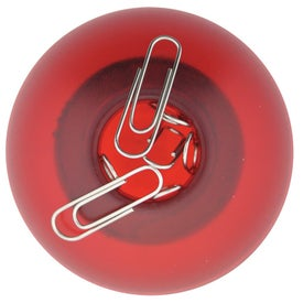 "The ""Roll About"" Paper Clip Ball Imprinted with Your Logo"