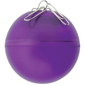 """Customized The """"Roll About"""" Paper Clip Ball"""