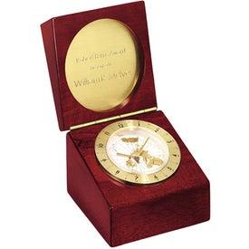 Customized Rosewood Captain's Clock
