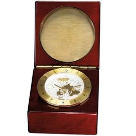 Printed Rosewood Captain's Clock