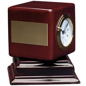 Rosewood Swivel Clock for Your Church