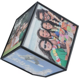 Branded Rotating Photo Cube