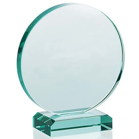 Round Award Branded with Your Logo