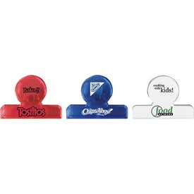 Round Clip Branded with Your Logo