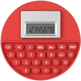Personalized Round Flexi-Calc