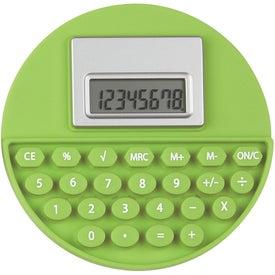 Personalized Round Flexi-Calc