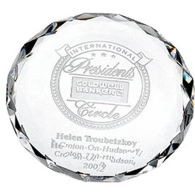Round Jewel Paperweight