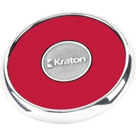 Promotional Round Zinc Coaster Weight Coaster