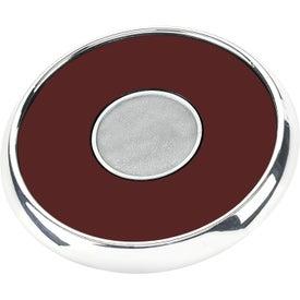 Round Zinc Coaster Weight Coaster with Your Logo