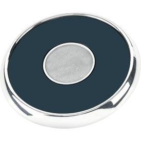 Custom Round Zinc Coaster Weight Coaster
