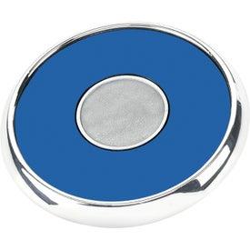 Branded Round Zinc Coaster Weight Coaster
