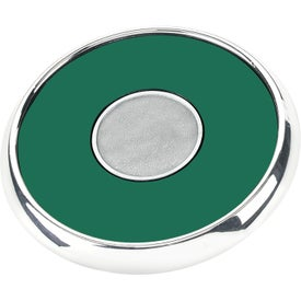 Round Zinc Coaster Weight Coaster