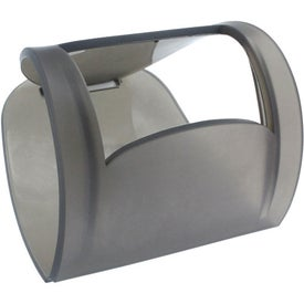 Imprinted Rubberized Phone Caddy