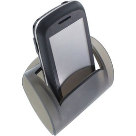 Monogrammed Rubberized Phone Caddy